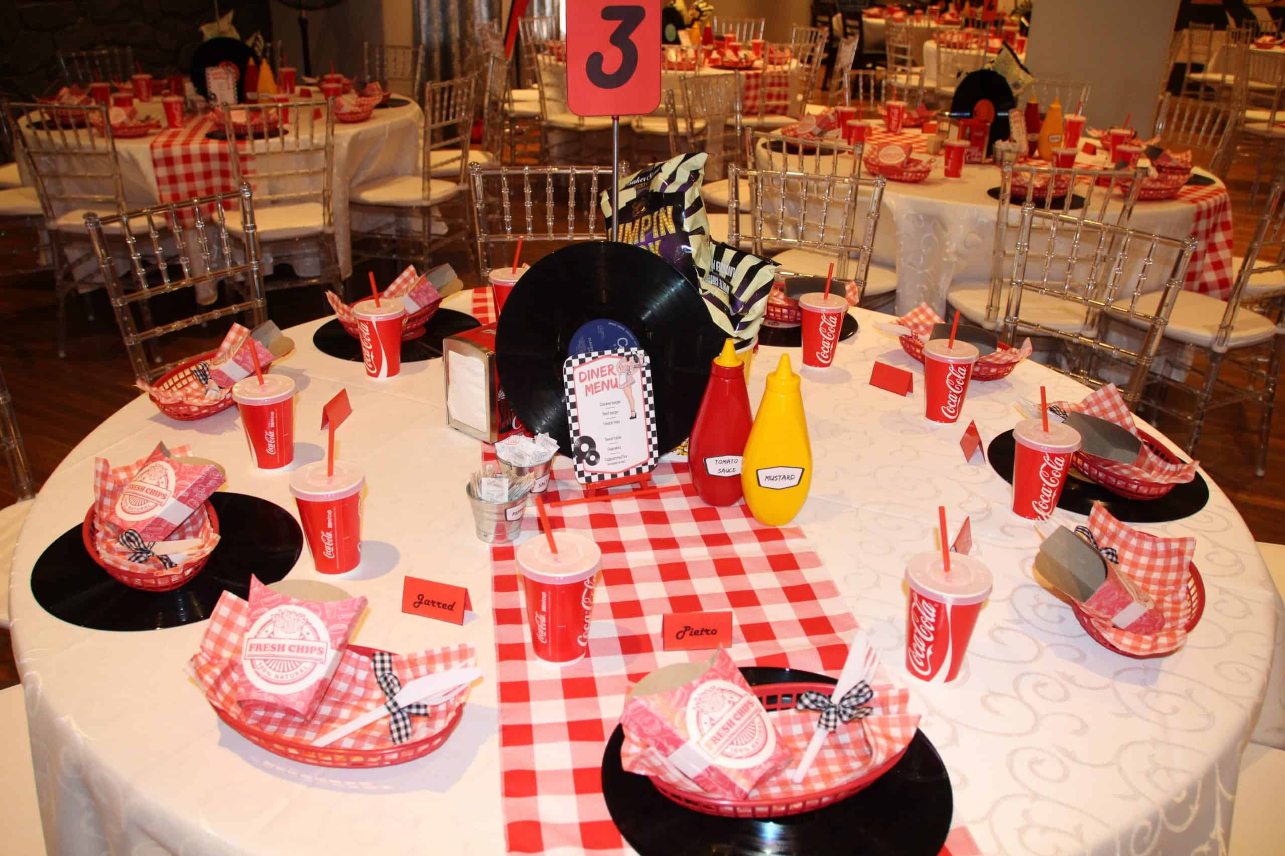 rock and roll party with red and white overlay scaled
